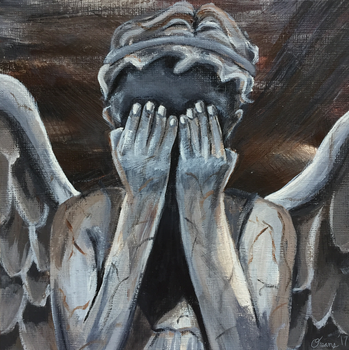 Weeping Angel by oceans-and-galaxies