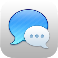 iOS 7 Messages Icon by ndenlinger