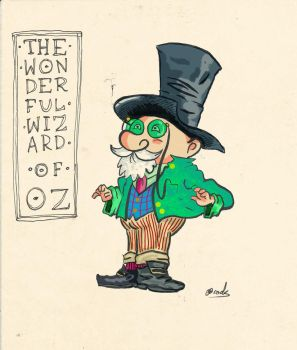 Wizard of Oz by 1933Oliver