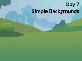 Bootcamp Day 7: Simple Background by Sintakhra