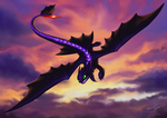 Toothless / Night Fury by Silwut
