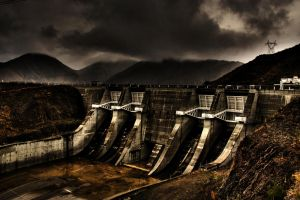 Benmore Dam by markh255