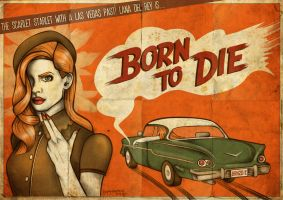 Born To Die - Vintage Movie by Hayley-Heartbreak