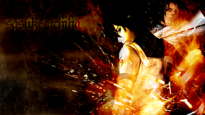 Sasuke Uchiha Wallpaper 1 by alekSparx
