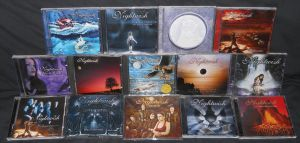 Nightwish CD Collection by Malidicus