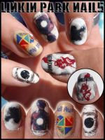 Linkin Park nails 2 by Ninails