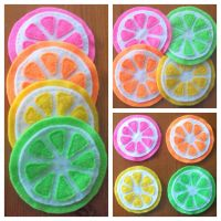 Citrus Coasters by RaspberryFanta