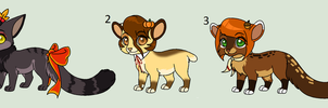 Fall Adopts (#2 available for 40) by Sikudhanii