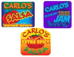 Salsa-Jelly Labels by generalbrievous