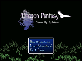 Dragon Fantasy REMADE: Title Screen by Zeromatrious