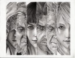 Final Fantasy 15 by leon7929