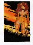red sonja color by amorimcomicart