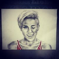 Miley by youngartt