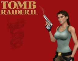 Tomb Raider II Lara Croft Wallpaper by Aya20809