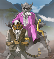 Sly cooper as Far cry 4 by Emmendal