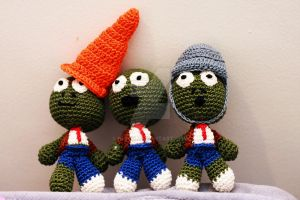 Plants versus Zombies dolls by Nissie