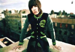 Oliver Sykes by LenaLawliet