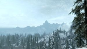 Skyrim Landscape by Technicallyderped