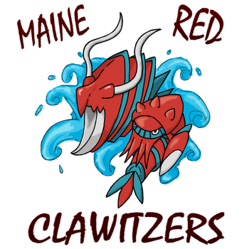 Maine Red Clawitzers Logo by Chain-Of-Ashes