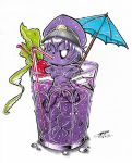 Chibi Purple Guy's Cocktail Pool! (Coloured.) :3 by ShannonxNaruto
