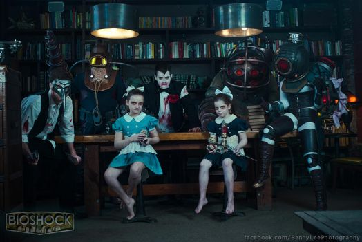 BIOSHOCK: One big happy family by Benny-Lee