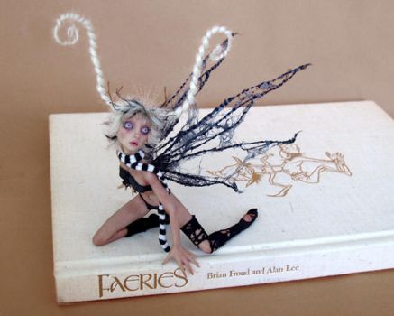 COBWEB fairy SCULPTURE by pixiwillow
