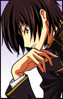 Lelouch: Thinking by zomgspongelolbob48
