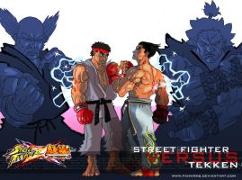 StreetFighterVSTekken - 2010 by FanWrks