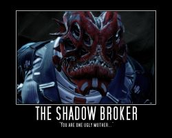 Shadow Broker Moti. Poster by Neos-Two