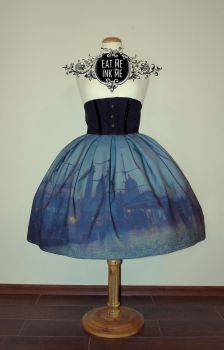 OLD MASTERS series high waisted skirt by zeloco