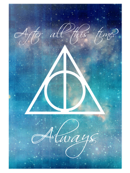 Always Deathly Hallows by amuratake