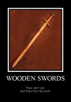 Motivator woodsword by Scare-Safe