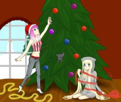 Christmas Preparations [Contest Entry] by 2stich2