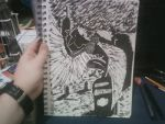 NC COMICON 2013 DOODLE 2 by shawncomicart