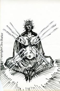 Pinhead Illustration by CliveBarker