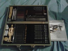 Royal Deluxe Sketching Artist Box Set by TristanMendez