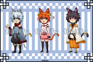 Close Species Susuneko's Adoptables CLOSED by FlaaffyShop