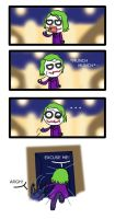 TDK ::Joker Crashes Party:: by skybluespirit