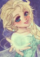 Queen Elsa by Parikuu