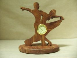 Ballroom Desk Clock (Yasha) by ichtheria