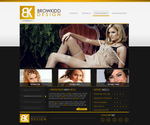 Black and Yellow Portfolio by BrowKidd