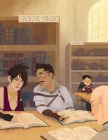 Library Nerds by CantonKid