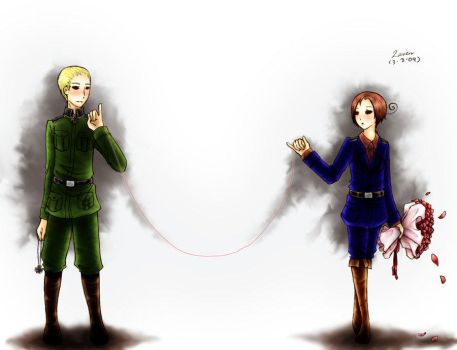 APH: Fate By String by Germany-x-Italy-Fans