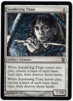 Magic Card Alteration: Jimmy Chamberlin Titan by Ondal-the-Fool