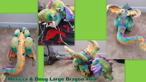 Melissa and Doug Large Dragon 40in by Vesperwolfy87