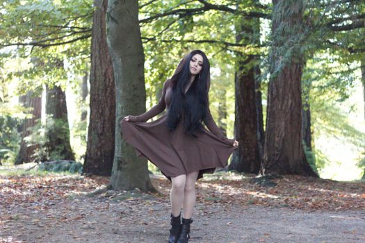 Stock - Gothic \ Fantasy - Autumn Witch by Mahafsoun