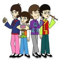 Beatles in China by thehurricanes