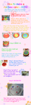 Rainbow Cake Tutorial by Minyatto