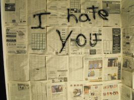 I hate you. by Siera2-Stock