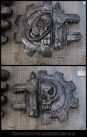 Techpriest Axe Head by CopperCentipede